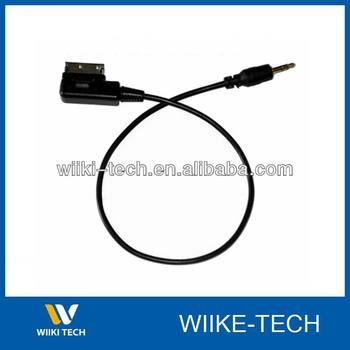 Audi Ami Mmi Cable Adapter Connect Ipod Iphone Mini 3 5mm To Audi A4 A5 S5 A6 A8 Q7 Vw Jetta