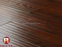12mm handscraped China manufacturers laminate wood floor