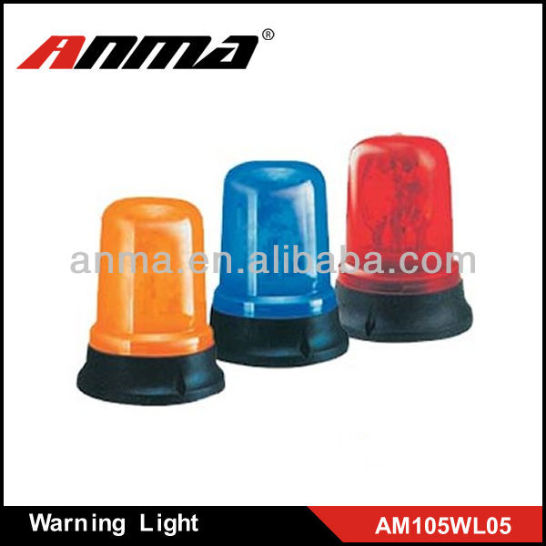 Orange yellow,bule and red no scrape car painting led strobe warning light