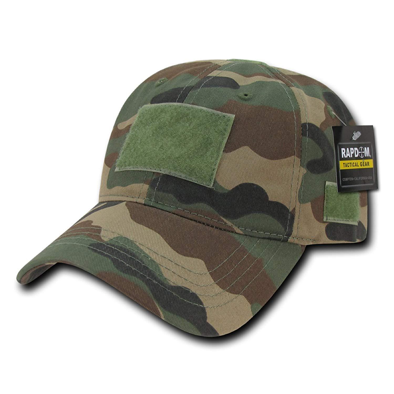 cef2dedfc0fa4 Get Quotations · Rapdom Tactical Relaxed Crown Tactical Caps