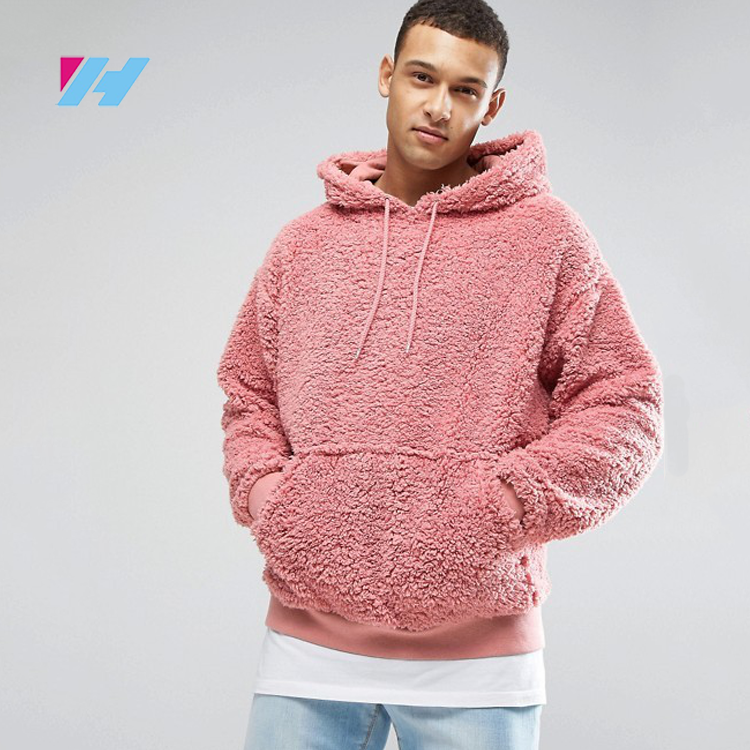 Autumn&Winter wholesale costom Polar Fleece Pullover Hoodies