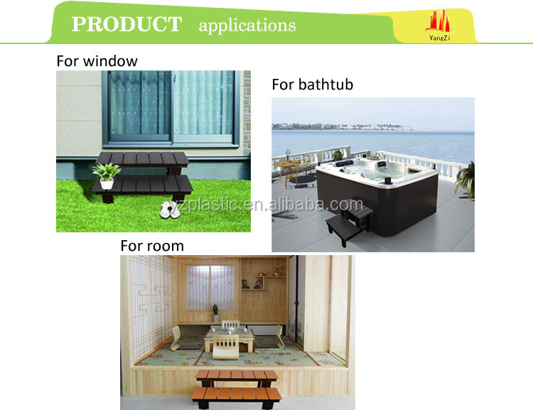 High Quality Waterproof Material Outdoor Furniture Step Chair Part 45