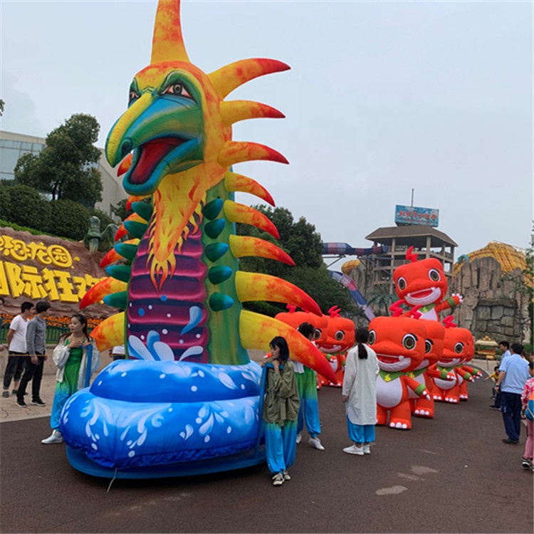 Inflatable dinosaur suit costume cartoon sex toy for carnival parade