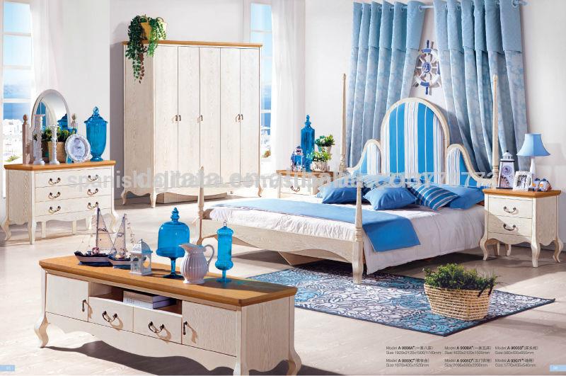 el ltimo 2014 estilo mediterr neo muebles del dormitorio