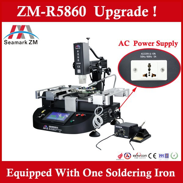 Zhuomao Factory!! ZM-R5860 bga chip desoldering and soldering machine bga nvidia chips gf114-325-a1