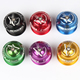 "Bicycle Headset 1-1/8"" Fixed Gear Mountain Bike Threadless Headset Spacers Caps For 28.6 MTB Headset CNC Cycling 44mm"