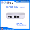 1 Port EPON ONU for Fiber Optical Network Gepon Terminal Box Work with Huawei ZTE OLT with Realtek Chipset