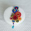 Fashion Festive Party Handmade Europe Soutache Jewelry In Brooch