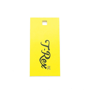 Wholesale Cheap Custom Clothing seed recycled Kraft Paper Blank Hang Tags with Cotton String