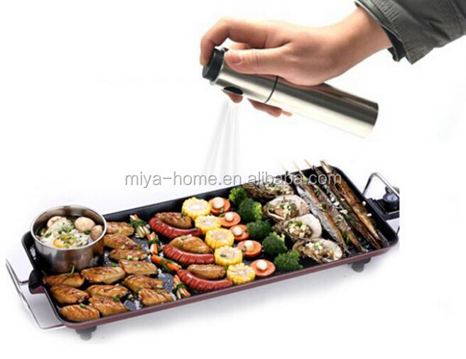 Hot selling Rvs Olie en Azijn Pomp/Spray Pomp Mist Spuit/Olie Mister Spuiten Fles Pot KitchenTools