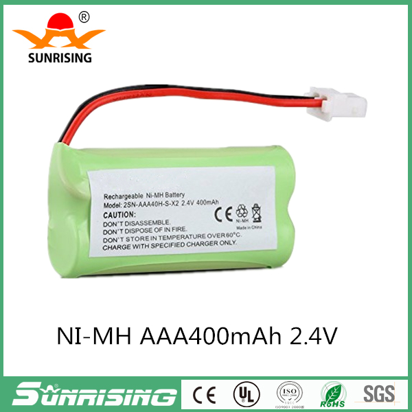 2.4V 400mAh NiMH Rechargeable Cordless Phone Battery for VTech BT-166342 BT166342 BT-266342 BT266342 BT183342 BT283342
