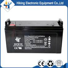 Factory Direct 12V 100Ah deep cycle AGM Battery for Solar Energy