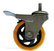 Medium duty 3 inch 4 inch 5 inch swivel or fixed or brake small moving dolly wheels