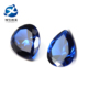 5*7mm Pear Cut Sapphire Blue Colored Spinel Stone