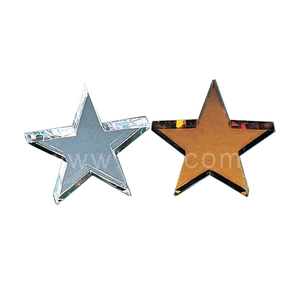 Fashion wholesale new glass crystal star shape paperweight