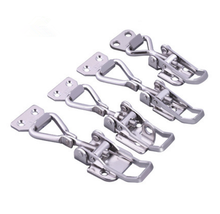 OEM ODM custom Stainless Steel stamping adjustable Toggle spring  Latches draw latch hardware