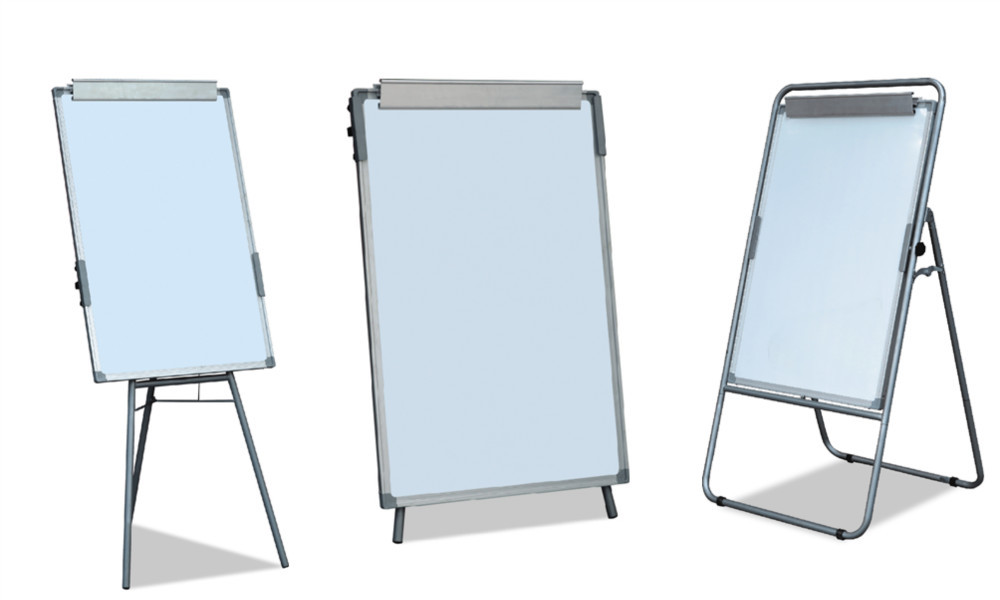 chart stand with wheels: School supplies wholesale flip chart stand single side