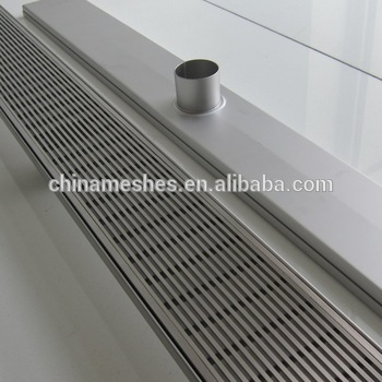 Stainless Steel Floor Drain Grate Outdoor Linear Grating Covers