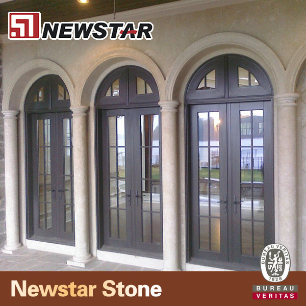 Exterior Arched Marble Stone Door Surround Buy Stone Door Surround Marble Door Jamb Entry Door