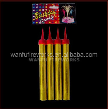 12cm Fancy Birthday Candle Sparklers Ice Fountain Wholesale Fireworks Factory Price For Party Decoration