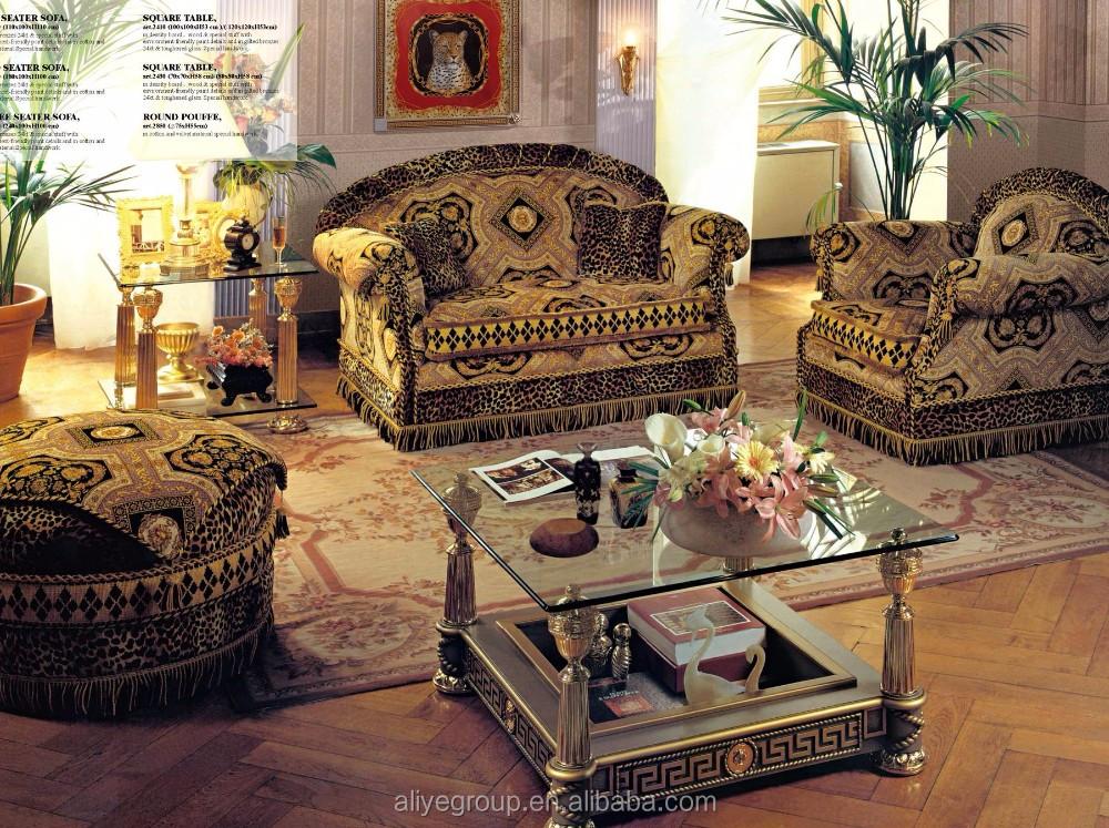 Art2830 Italienische Wohnzimmer Sofagarnitur Neueste Verzierten