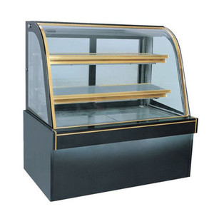Curve Glass Bakery display / Cake Showcase / Display Cooler