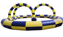 new sports inflatable games inflatable bungee run sport game