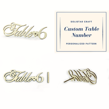 Custom Pattern Wood Restaurant Table Number Holder Buy Table - Custom restaurant table numbers