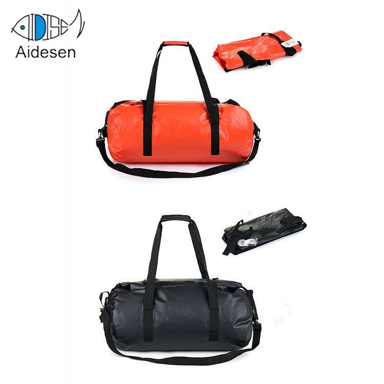 26e41bfd78 Weekend Custom 500D PVC Travel Waterproof Duffel Bag Foldable Toe Tarpaulin  Man Sports Dry Gym Bag