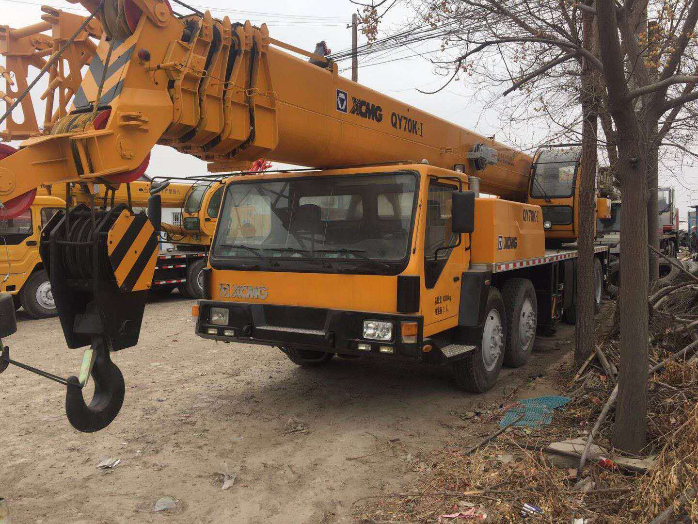 Used Xcmg 70t Truck Crane In Good Working Condition,Xcmg