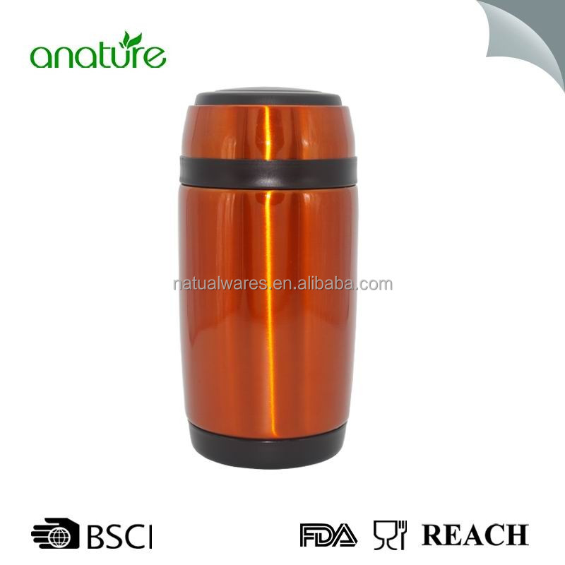 High Quality Stainless Steel Insulated Soup Container With Fordable Spoon