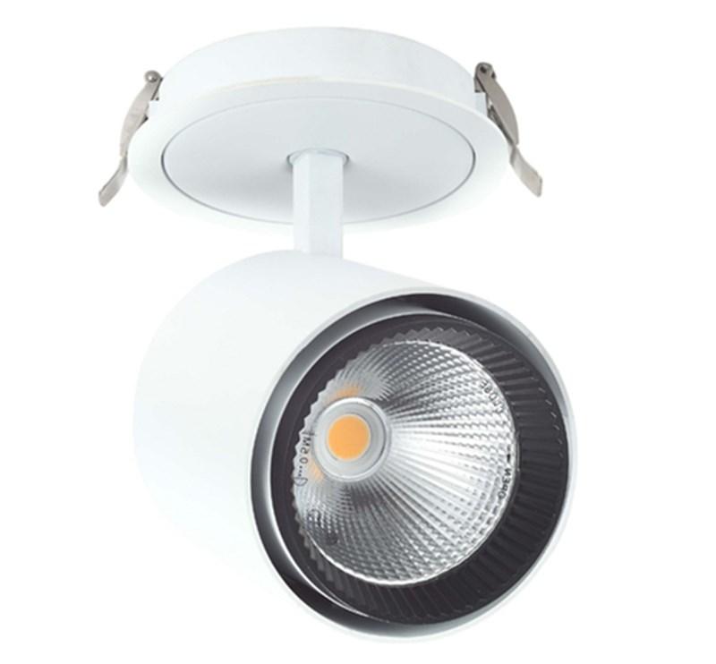 35w Ceiling Light 15 25 40 Degree Beam Angle Recessed Track Light ...