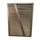 Customized Color Cheap Price Anti-bad Weather Aluminum Flexible Window Louvers Exterior Plantation Shutters