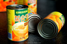 Hot sell 2017 new crop canned fruit canned yellow peach Manufacturer