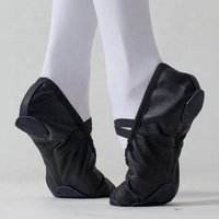 Genuine Leather Ballet Dance Shoes for Girls Women