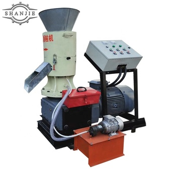 Factory Price capacity 100 to 800kgs each hour Wood Pellet Making Machine mill for sale in India