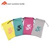 Promotional gift soft microfiber cloth drawstring bag for sunglasses