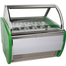 10pans Supermarket/Commercial import China products ice cream display freezer
