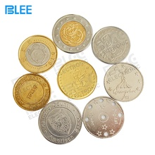 Manufacturer Wholesale cheap Custom Metal stamping engraved token coins for sale