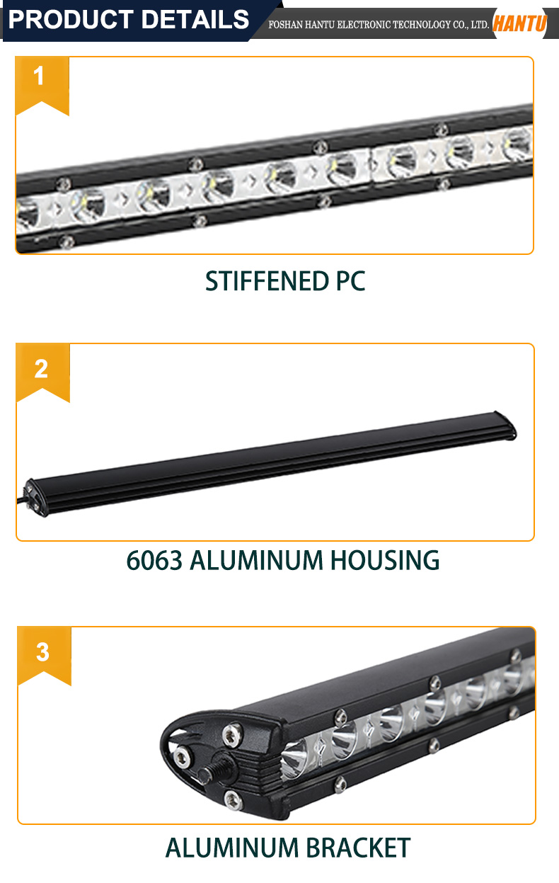 High quality led 180w offroad led light bar