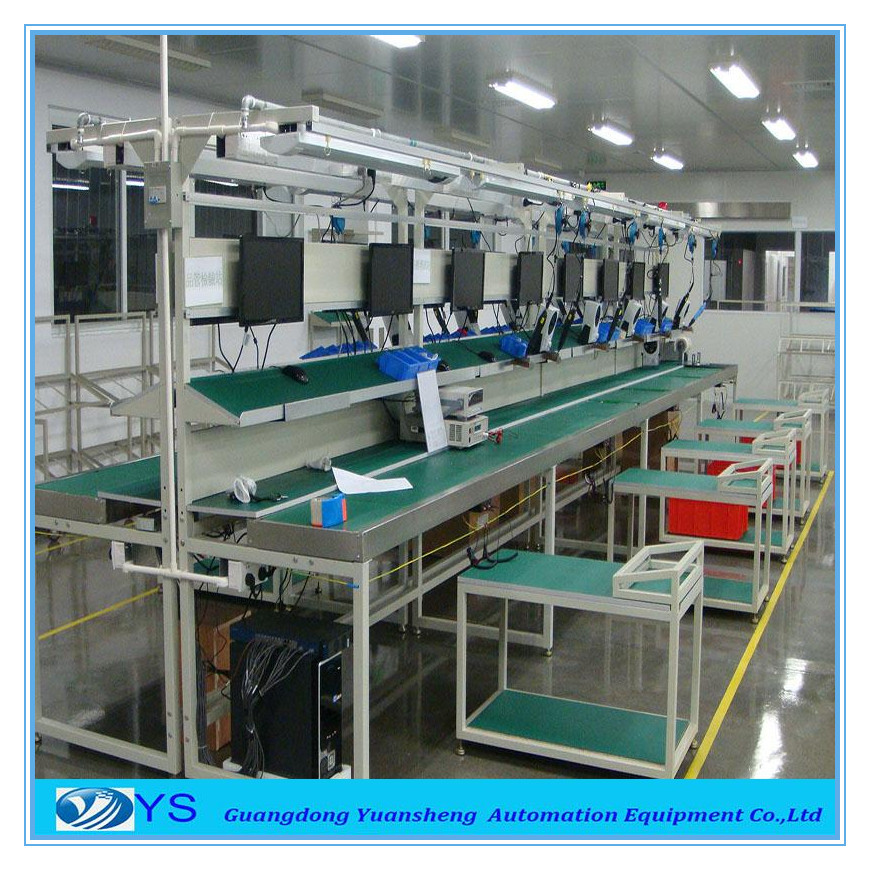 Electronics Assembly Station : Electronics conveyor roller assembly line buy tractor