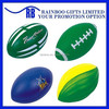 Hot selling Eco-friendly logo printed cheap promotional pu rugby ball