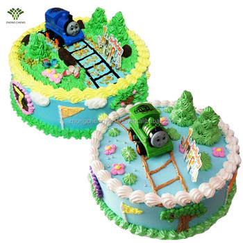 Thomas Friends Birthday Cake Decorations Plastic Cake Toppers