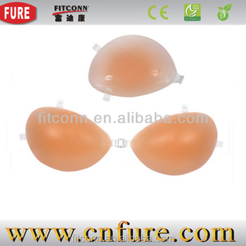 Fake silicone mastectomy breast forms bra silicone hip pads nude front women breast