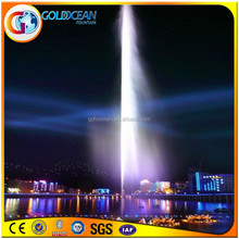 Outdoor Lake Straight Line Super-high Jets Splendid Fountain Performance