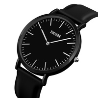 cheap price skmei brand silicone band quartz watch for couple