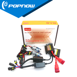 OLLO hid xenon kit 12years factory china hid conversion kit with H1 H3 H7 H11 9005 HB3 9006 HB4 H4 H13 xenon bulb