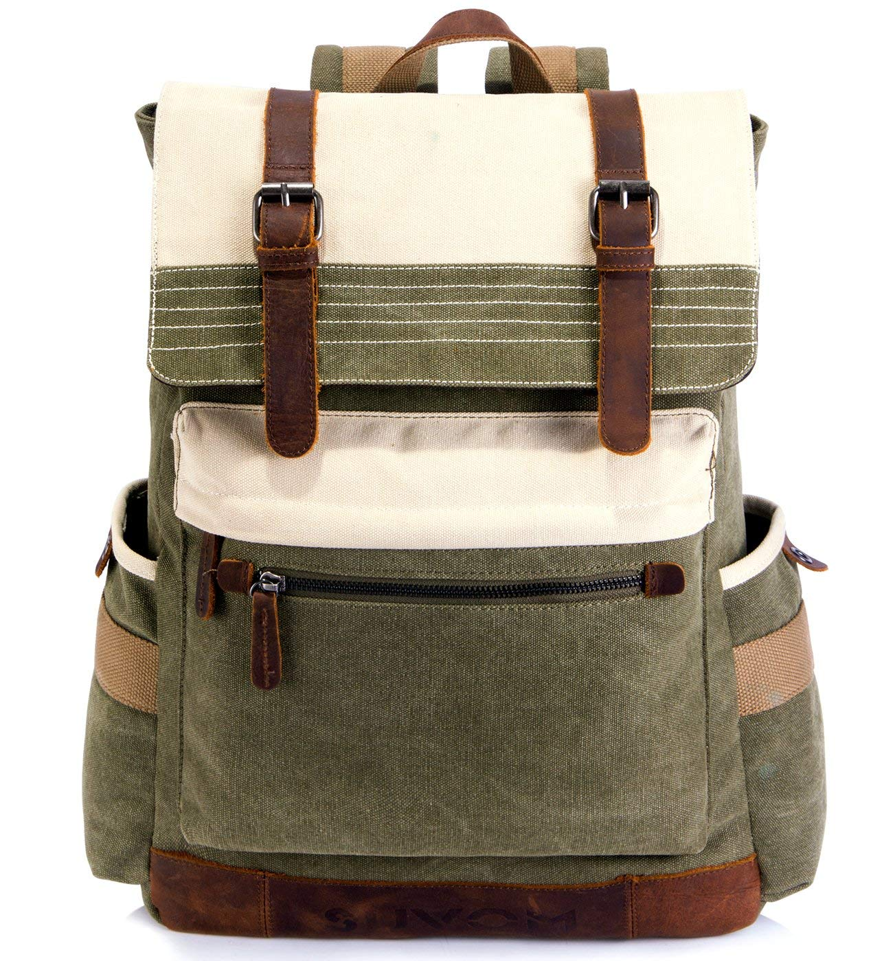 9917e09d8dbd Get Quotations · SUVOM Canvas Backpack