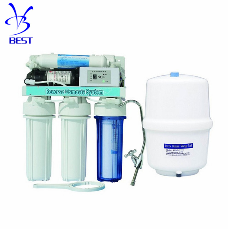 under sink 5 stage top home 75g ro <strong>water</strong> filter <strong>systems</strong> for kitchen