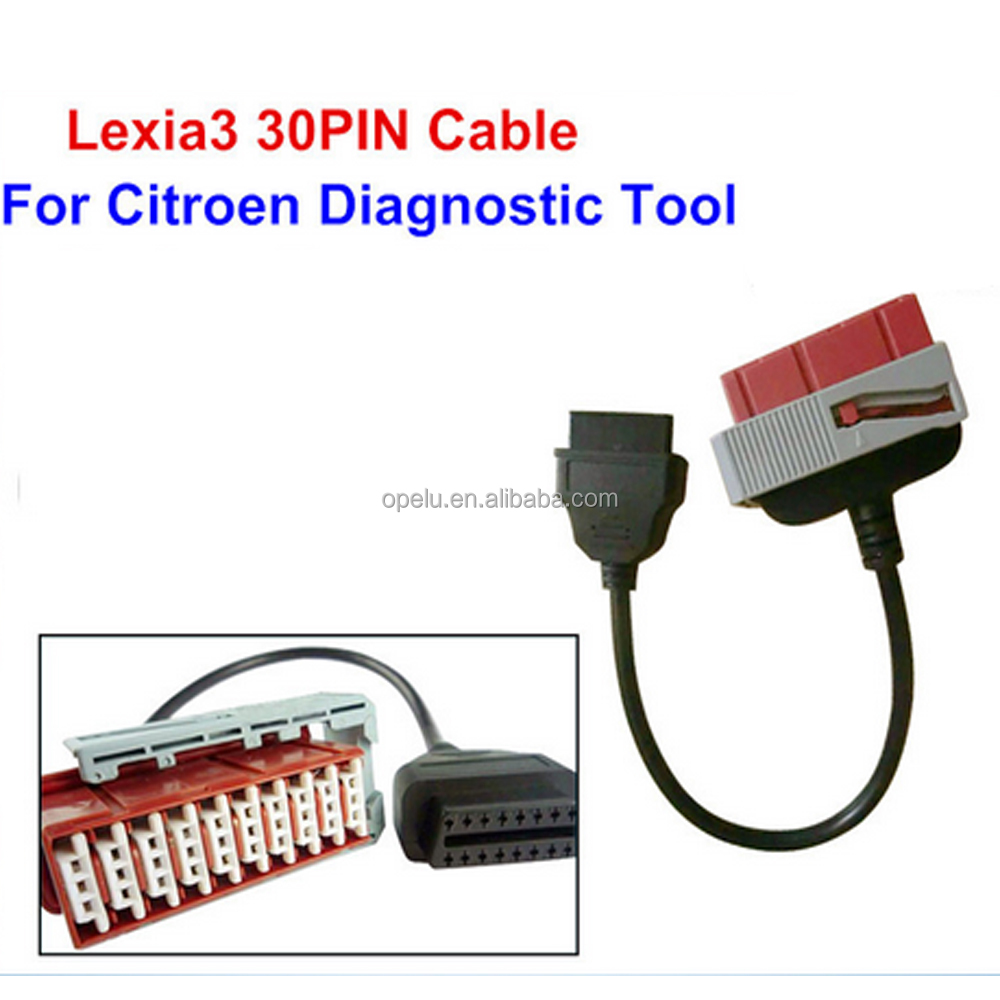 Best Selling Car Diagnostic Tool Lexia 3 pp2000 30pin cable